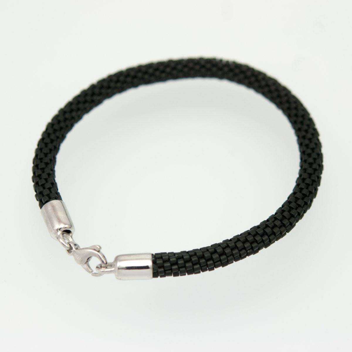 bracelet unisexe perles en verre